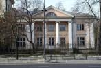 Palacio Sleszynskich en Varsovia. Obra de Antonio Corazzi en 1826, reconstruido por Helena y Szymon Syrkus entre 1947 y 1948