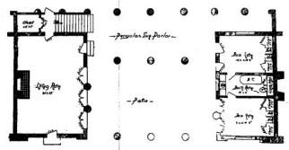 Alice Constance Austin, planta baja, casa sin cocina
