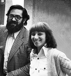Diana Agrest y Manfredo Tafuri en el IAUS, 1975