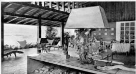 Clara Porset, mobiliario de la casa de Mario Pani en Acapulco