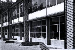 Simone Guilissen-Hoa. Instituto Provincial para ciegos y ambliopes, Hainaut, Bélgica. Archivo Jacques Dupuis