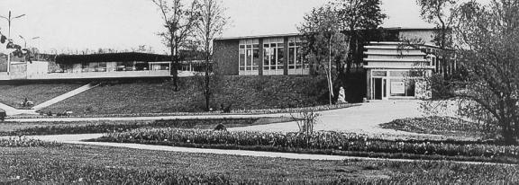 Valve Pormeister: Lillepaviljon (1958) y Café Tuljak (1964). Fotografía del conjunto (c. 1980)