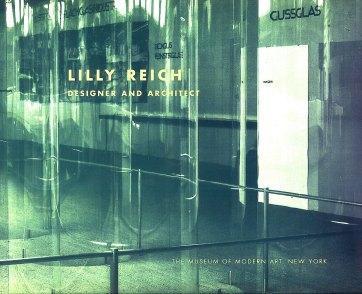 Lilly Reich, Portada de catálogo exposición dedicada a Lilly Reich en MOMA en 1996