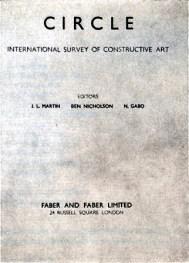Sadie Speight, Circle, un manifiesto del arte constructivista, 1937
