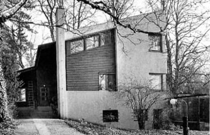 Flora Steiger-Crawford, Sandreuter Haus (Casa Reuter) con Rudolf Steiger, Riehen, 1924