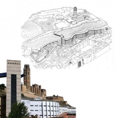 Roser Amadó y Lluis Domènech, Actuaciones en el Centro Histórico de Lleida