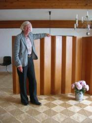Hanne Kjærholm, Panel divisorio en la casa Kjærholm