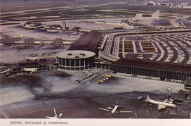 Gertrude Lempp Kerbis, Rotunda Building. 1963. Postal