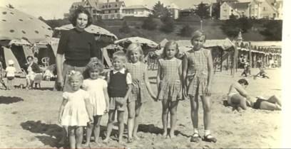 Delfina Gálvez y familia
