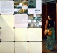 Mayumi Watanabe, muestra Arquitetas Invisíveis en CAFAU-UnB