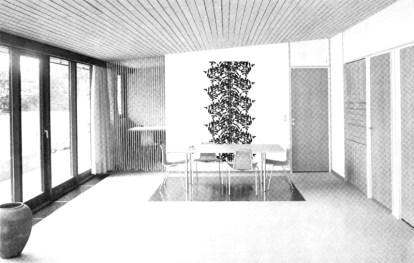 Lise Roel y Hugo Höstrup, 4 Villas, Halmstad, 1959