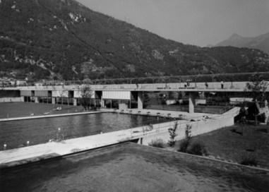 Flora Ruchat-Roncati, Piscinas en Bellinzona