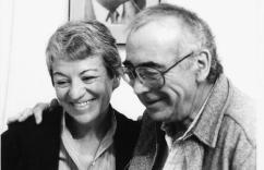 Ada Karmi-Melamede y su hermano Ram Karmi