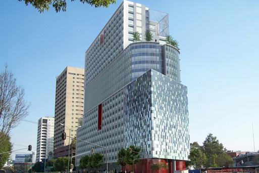 Sara Topelson, Torre de viviendas Anauhac, México (Grinberg Topelson Arquitectos)