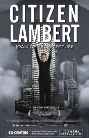 Phyllis Lambert. Poster del documental Citizen Lambert: Joan of architecture