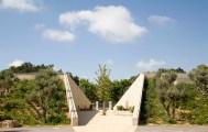 Ada Karmi-Melamede, Ramat-Hanadiv Visiting Center. Zichron Yaakov, Israel. 2008