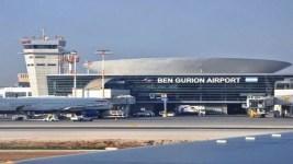 Marilyn Jordan Taylor, S.O.M. Aeropuerto Internacional Ben Gurión, Israel