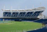 Patty Hopkins. Hopkins Architects. MCA Pune International Cricket Centre: Subrata Roy Sahara Stadium Pune, India, 2012