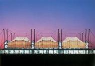 Patty Hopkins. Hopkins Architects. Schlumberger Cambridge Research Centre, Phase I Cambridge, Reino Unido, 1992