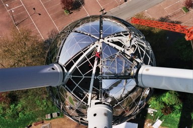 Christine Conix, Atomium, Bruselas