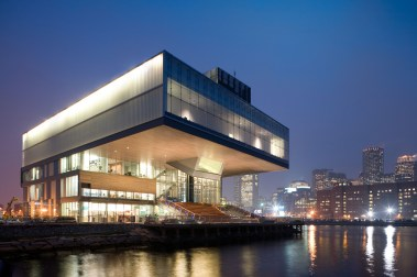 Elizabeth Diller, Diller Scofidio + Renfro, The Institute of Contemporary Art, Boston