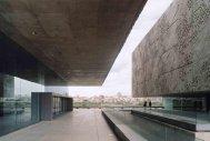 Fuensanta Nieto, Nieto Sobejano Arquitectos, Palacio de Congresos de Mérida, Badajoz, España, 1999-2004