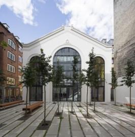 Dorte Mandrup. Restauración del edificio construido en 1861. Copenhague, 2014