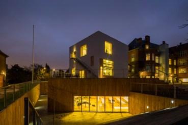 Dorte Mandrup. Aurehøj Music Building. Gentofte, 2014