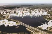 Dorte Mandrup, Masterplan Mikkeli. Finlandia, 2012-13