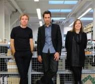 Nathalie de Vries con Winy Maas y Jacob van Rijs