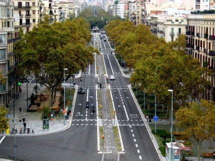 Lola Domènech, remodelación del Paseo de Sant Joan, Barcelona, 2009-2011