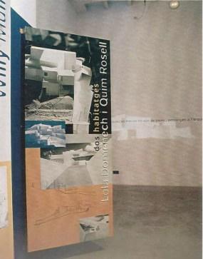 Lola Domènech, Quim Rosell, dos viviendas, 1996. Premios Jóvenes Arquitectos del Congreso UIA