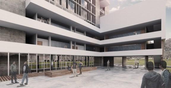 Tandem Arquitectura, Facultad de Ciencias Sociales, PUCP