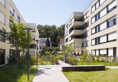 Zita Cotti. Desarrollo residencial en Katzenbach, Zurich. 2005-2010