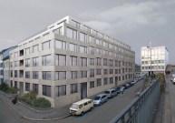 Zita Cotti. Edificio residencial y comercial High Street, Basilea