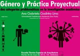 Ana Gabriela Godinho Lima, conferencia Género y práctica proyectual