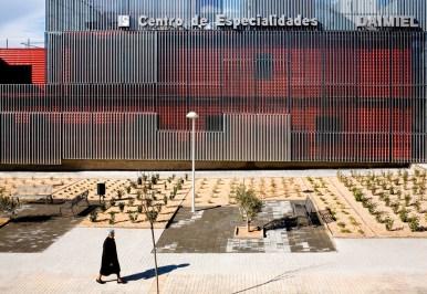 María Hurtado de Mendoza, César Jiménez de Tejada, José María Hurtado de Mendoza, Estudio Entresitio, Centro de Especialidades de Diagnóstico y Tratamiento en Daimiel, Ciudad Real, 2007