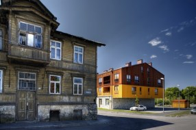 Margit Mutso, Eek & Mutso AB, Kristi Pôldme, viviendas en Kalamaja, Tallinn, Estonia, 2006-2007