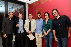 Júlio Luiz Vieira, Sérgio Marques, Antonio Carlos Sant'Anna Júnior, Henrique Martin Te Winkel, Carla Juaçaba e Fernando Fortes