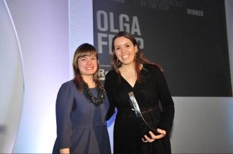 Olga Felip. Premio Emerging Architect Wia 2013.