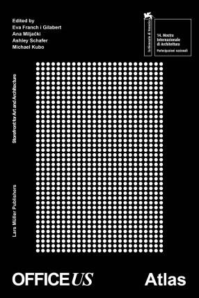 "Portada Atlas ""OfficeUS"", Bienal de Arquitectura de Venecia, 2014."