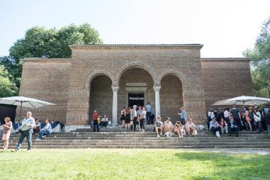 En el Pabellón de Grecia de la Bienal de Venecia