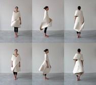Meejin Yoon. Vestido Möbius