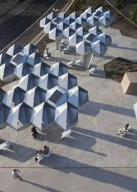 Yoon+Höweler, Shadow Play, espacio público, Phoenix, EEUU, 2013.