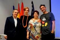 "Romina Canna, Entrega de premios concurso internacional ""From Limit To Live It"""