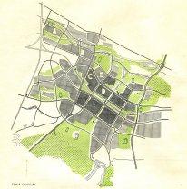 Hanna Adamczewska-Wejchert. Plan de desarrollo urbano de la ciudad de Nueva Tychy
