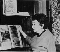 Rachel Bernstein Wischnitzer, New York, 1968.