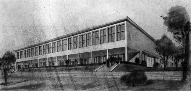Leman Tomsu, proyecto para un casino, Tozkoparan, 1939