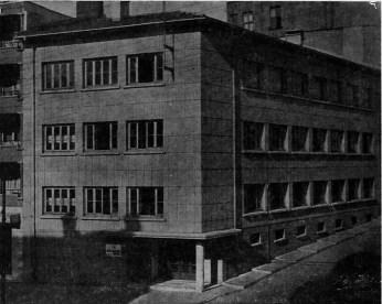 Münevver Belen, Edificio para el Ministerio de Finanzas en el distrito de Şişli, Estambul, 1946.