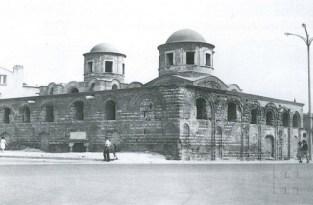 Cahide Tamer, mezquita Fenâri Îsâ después de la intervención en 1959